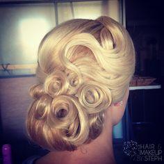 Ballroom hair... inspiration