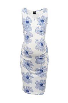 Madison London | Stella Maternity Dress - Poppy Print | Maternity Clothes | Maternity Dresses
