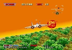 After Burner 2 - Welcome to flight simulator Side Scroller style