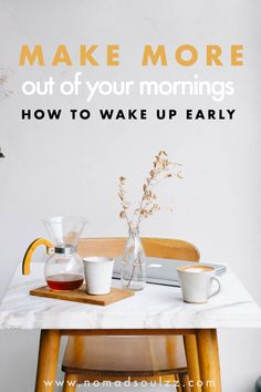 What is the best way to wake up early? How to get up in the morning? What are the tips and tricks? What do you need in you life right now? Find out now!