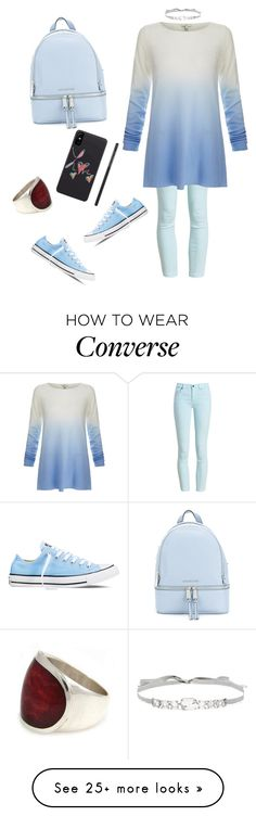"""""""Untitled #4263"""" by sweetyincago on Polyvore featuring NOVICA, Barbour, Joie, Converse, MICHAEL Michael Kors and Jenny Packham"""