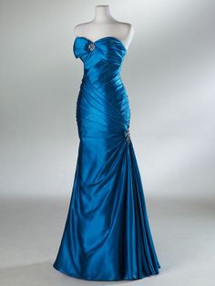 custom make A-line ball gowns Elastic Woven Stain Dress Bridesmaid Dress Evening Prom Dress$148.00
