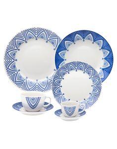 Oxford Porcelanas - Flamingo Milano 42 peças