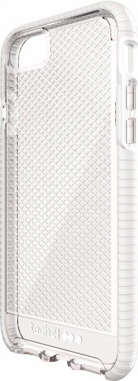 Tech21 - EVO CHECK Case for Apple® iPhone® 7 - White/Clear - Front Zoom
