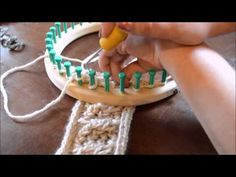 4 Stitch Right Cable Chain - YouTube