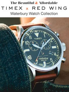 Timex x Red Wing watch collection