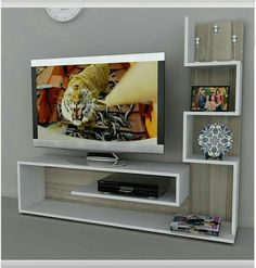 25 Awesome Ideas to Make Modern TV Unit Decor in Your Home - Decor Units unit design Awesome Tv Unit Decor, Tv Wall Decor, Room Decor, Tv Wanddekor, Modern Tv Wall Units, Tv Unit Furniture, Living Room Tv Unit Designs, Tv Wall Design, Wall Mounted Tv