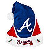 Atlanta Braves Santa Hats