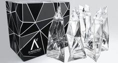 Anastasia....vodka bottle designed by Karim Rashid