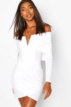 Up to -89% discount on all products Night Outfits, Dress Outfits, Fashion Dresses, Women's Fashion, Lingerie Dress, Women Lingerie, Boohoo Outfits, White Off Shoulder Dress, Tall Clothing