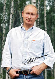 Версия для печати искусства Владимир Путин подписал знаменитость по GoshaArtStudio