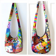 MADE TO ORDER Hobo Bag Patchwork Crazy Quilt Sling by 2LeftHandz, $47.00