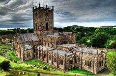 St Davids Cathedral, St. David's, North Wales