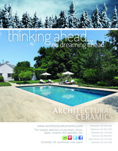 Home & Design Magazine Ad Jan-Feb 2013