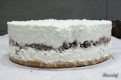 Sernik Bounty z polewą z białej czekolady - Stonerchef Tiramisu, Cheesecake, Ethnic Recipes, Cook, Fit, Bakken, Shape, Cheesecakes, Tiramisu Cake