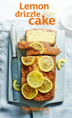 Lemon drizzle cake is always a hit. Always. Let's get baking!