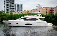 73 ft 2014 Sunseeker Manhattan - TIE featured at Palm Beach International Boat Show 2017