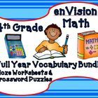 This bundle combines 2 products into 1 for a great value!.  First, this bundle contains fourth grade CLOZE (fill in the blank) worksheets to teach...