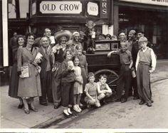 Frankwell carnival circa 1950. Shrewsbury, Shropshire