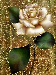 Beautiful Rose Flowers, Flowers Gif, Beautiful Flowers Wallpapers, Glitter Flowers, Beautiful Gif, Pretty Wallpapers, Friendship Flowers, Rainbow Roses, Glitter Graphics