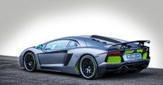 "Hamann Lamborghini Aventador | ""Stealth Grey"" paint, lime green accent | Digital Trends"