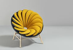 Very interesting-looking chairs.  I wonder about their comfort.