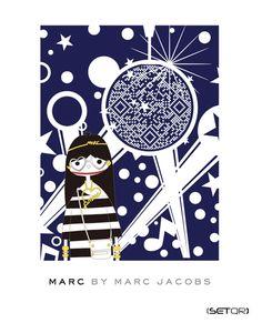 #QRCode e la Moda: MARC JACOBS (Japan) - QR Code and Fashion: MARC JACOBS @qr_france
