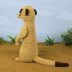Meerkat amigurumi crochet pattern