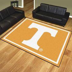 Nylon Tennessee Volunteers Vols UT 8 x 10 Area Rug Carpet