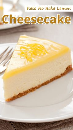 If you dont want the oven on but would love to make a cheesecake no bake lemon cheesecake is for you! Keto No Bake Lemon Cheesecake You must try this recipe. The post Keto No Bake Lemon Cheesecake appeared first on Dessert Park. Low Carb Sweets, Low Carb Desserts, Low Carb Recipes, Low Carb Cakes, Healthy Lemon Desserts, Diet Desserts, Diet Snacks, Diet Meals, Ketogenic Recipes