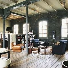 loft brick apartment
