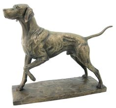 Pointer Dog Sculpture