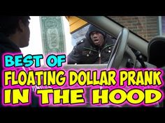 Best of Floating Dollar Prank in the Hood is The best video ever not really but its freaking funny