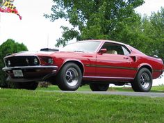 69 Mach 1 (Fell in love with this car when I first rode in one in 1969)