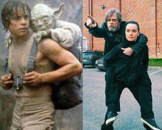 Star Wars humor, let the training begin