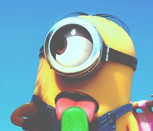 Inspiring picture cute, summer, film, snacks, green, tumblr, yellow, yummy, icepop, dispicable me, minion, movie. Resolution: 302x600. Find the picture to your taste!