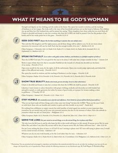wonderful Scripture pulled together for us women of God