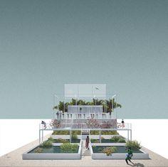Francesco Librizzi, Bas Smets — Bahrain Pavilion — Image 3 of 6