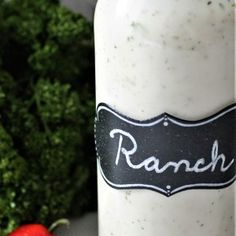 This Dairy Free Ranch Dressing is vegan, gluten free, cholesterol free, and can be made soy free too.  You won't believe how creamy and delicious it is!