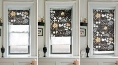 DIY fabric roller shades via design Sponge Diy House Projects, Cool Diy Projects, Sewing Projects, Sewing Crafts, Cortinas Rollers, Rollo Design, Roller Blinds Design, Ideias Diy, Roller Shades