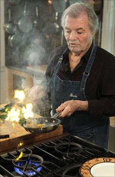 Jacques Pepin. Still one of the best chefs ever.