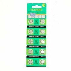 Bluecell 10 Pcs AG10 Alkaline Button Cell Battery 389A CX189 LR1130W for Watch Toy Calculator + Free Bluecell Cable Tie by BLUECELL. Save 20 Off!. $4.79. Quantity: 10 pcs AG10 alkaline battery. Brand New with package. Cross with 389A CX189 LR1130W.
