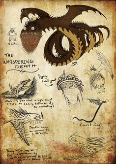 Skrill Dragon | HTTYD: Whispering Death by Iceway on deviantART