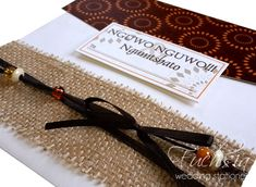 uMabo or uMembeso Invitations #traditional #weddinginvitation © copyright 2014