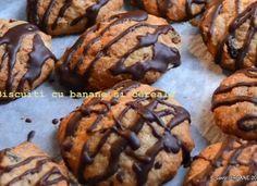 Biscuiti cu banane si cereale