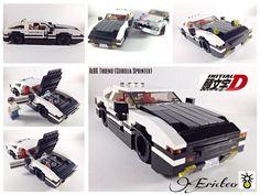 Initial D: Project D AE86 Trueno Toyota Corolla Sprinter