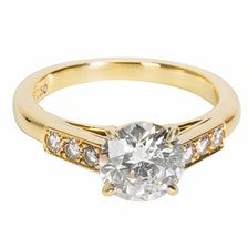 907154642684f CARTIER Yellow gold ring Cartier Gold