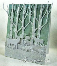 pinterest memory box cards | Paper: White, Memory Box Yuletide Accessories: Memory Box Tall Birch ...