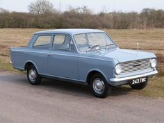 1964 Vauxhall Viva HA. The HA Viva was made from 1963-1966 and came in 2 door saloon, with a 1,057cc OHV inline 4 cylinder engine and 4 speed synchromesh gearbox.