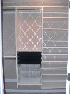 Small Walk In Closet Ideas | Fashionable Master Closet - Closet Designs - Decorating Ideas - HGTV ...